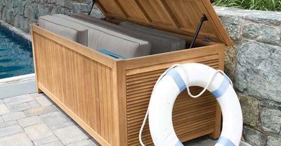 Harborside Teak Storage Chest