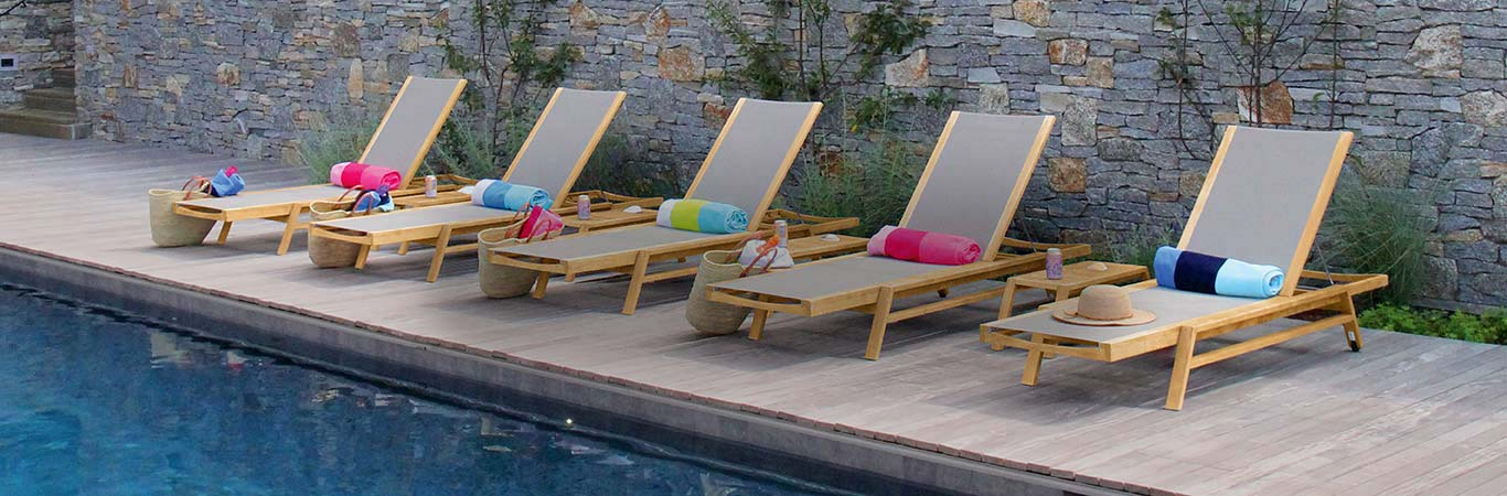 Teak Pool Furniture