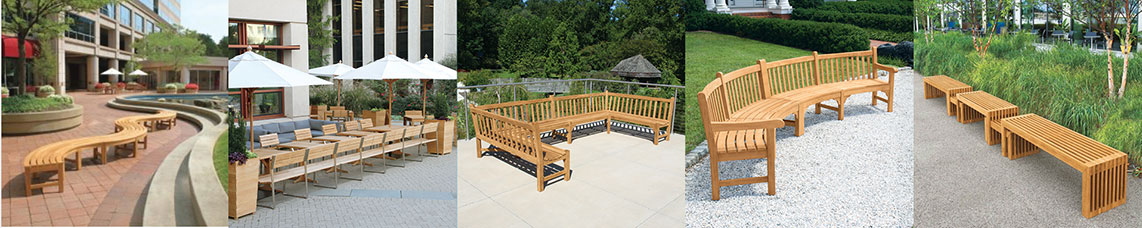 Shop our Teak Modular Bench Collections
