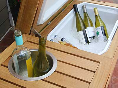 Cucina Outdoor Bar Cooler