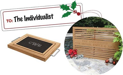 Personalized Engraved Teak Gifts
