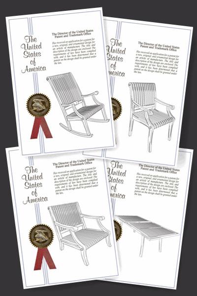 Palisade Design Patent
