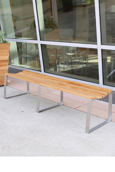 Bond 6ft. backless bench
