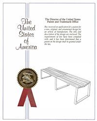 Bond 6 ft. Backless Bench Patent