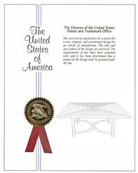 Fiori Square Dining Table patent