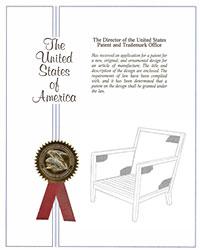 Salon lounge chair patent