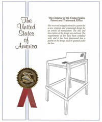Summit stacking bar stool patent