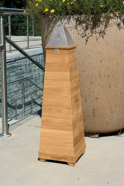 Urbana ash receptacle