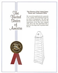 Urbana triple-stream receptacle patent