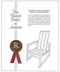 Aspen Adirondack Design Patent