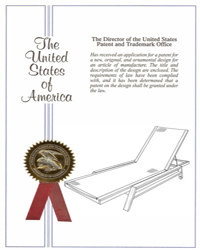 Summit stacking chaise patent