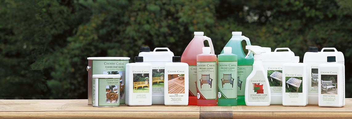 Explore Teak Care Cleaners