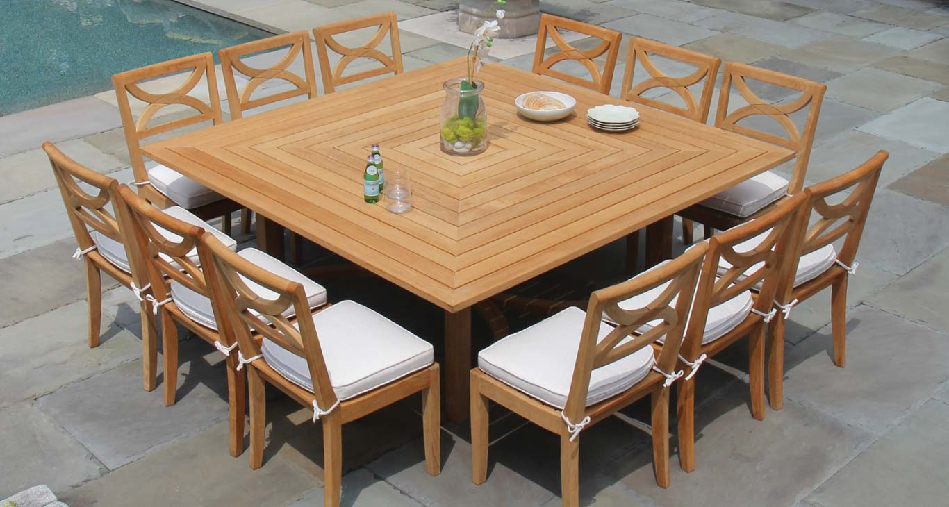 Fiori Teak Dining Furniture