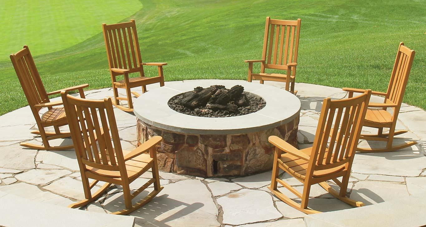 Teak Outdoor Furniture - Teak Rocking Chairs