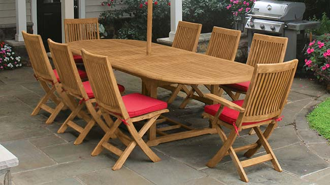 Harborside Teak Outdoor Furniture