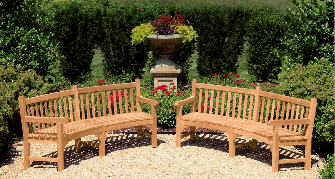 Windermere Teak Benches