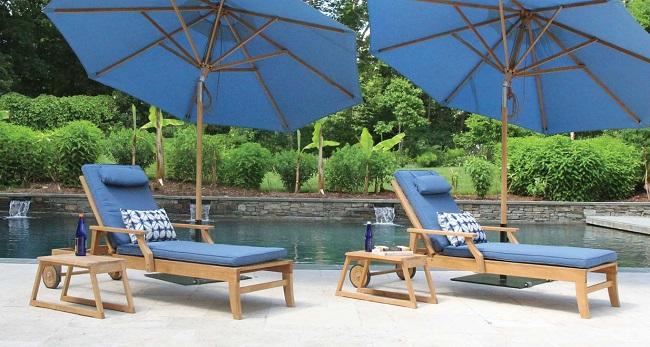 Seneca Teak Poolside Furniture
