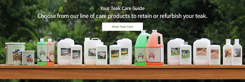 Explore Teak Care Line